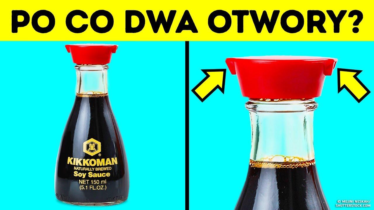 Download Dlaczego butelki z sosem sojowym mają dwa otwory