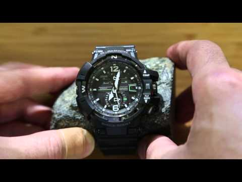 Casio G-Shock GW-A1100 demonstration
