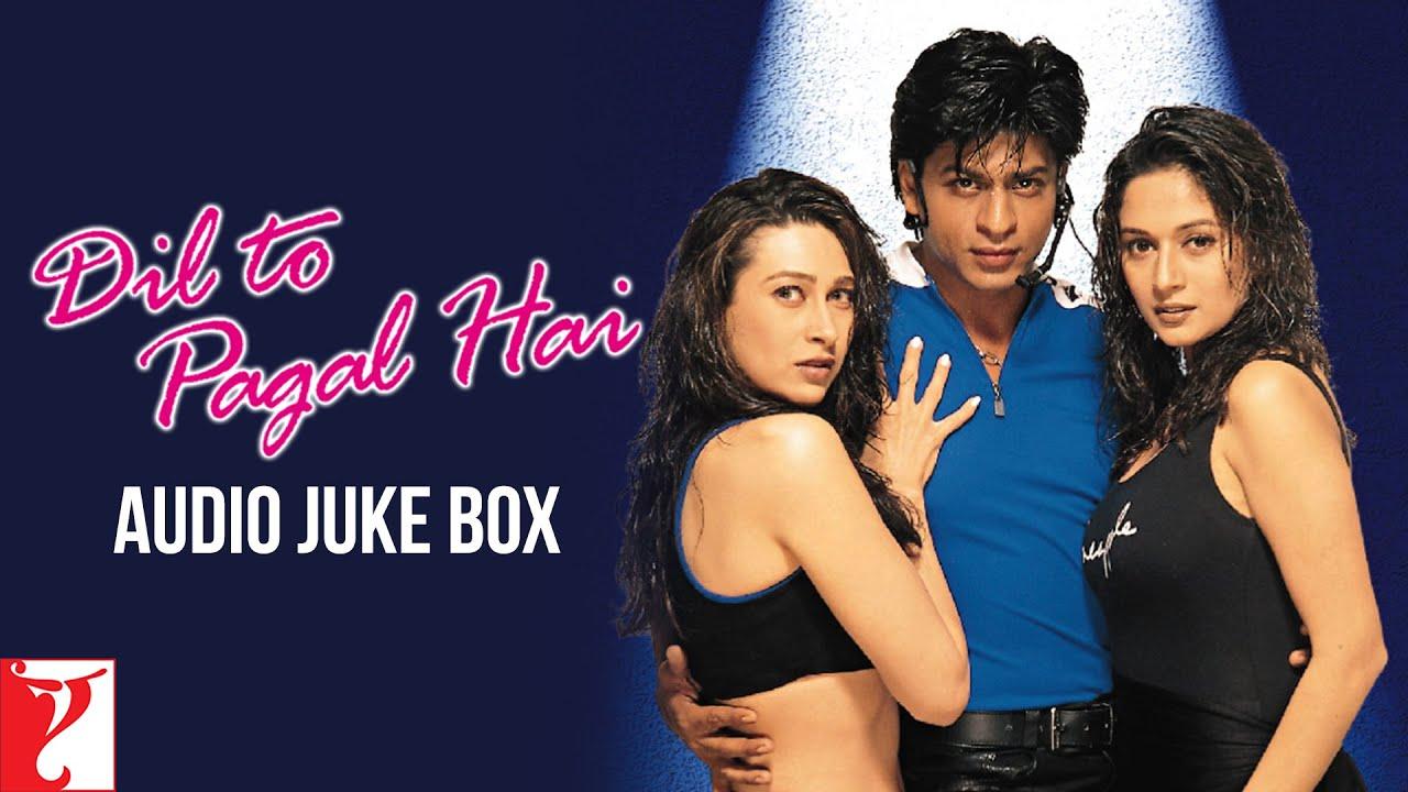 Dil To Pagal Hai Full Songs Audio Jukebox Shah Rukh