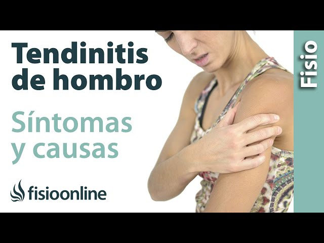 tratamiento ordinary inflammation hombro