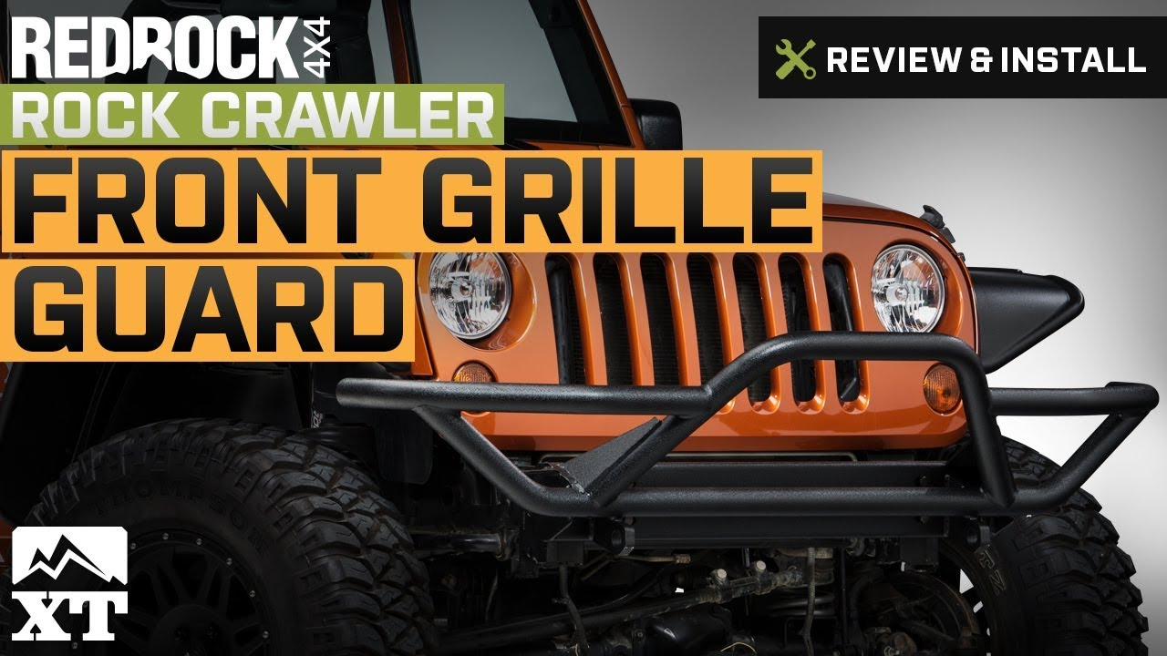 Jeep Front Grill Guard