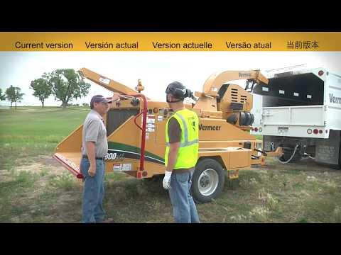 Brush Chipper Operation and Safety Video (Current Models)-En