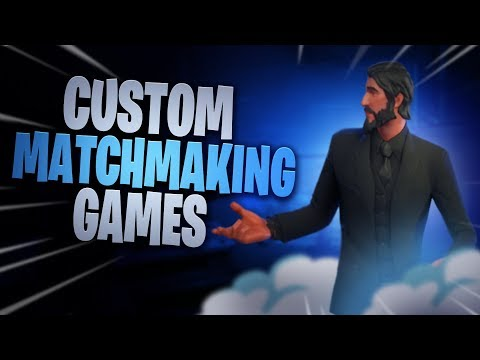 custom matchmaking cross platform