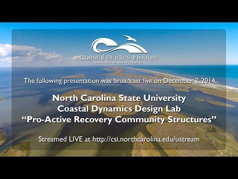 NCSU Coastal Dynamics Design Lab Presentation 2014