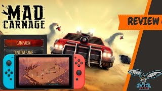 Mad Carnage Nintendo Switch Review (Video Game Video Review)