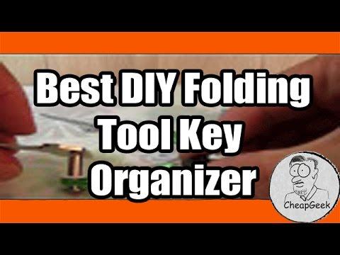 Best Diy Folding Tool Key Organizer Jack Knife Style Key Holder