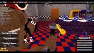 A Brincadeira no Roblox Five Night At Freddy es - Roblox