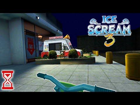 Катаюсь на парковке Торгового центра | Ice Scream 3