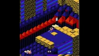 NES Longplay [274] Snake Rattle