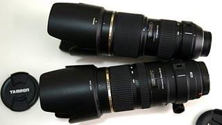 Tamron 70-200mm f2.8 Di VC USD - Hands on (vs non VC)