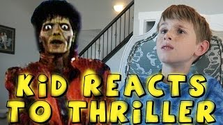 FUNNY REACTION TO THRILLER MUSIC VIDEO