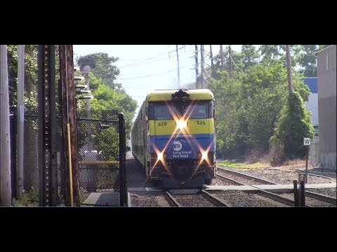 LIRR: Independence Day Weekend Railfanning at Islip Ft. Cannonball #2798