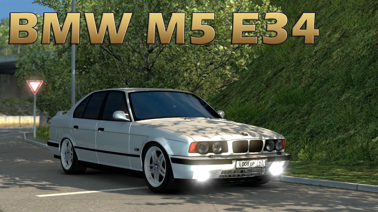 Ets2 Bmw M5 E34 Car Mod Euro Truck Simulator 2 Youtube