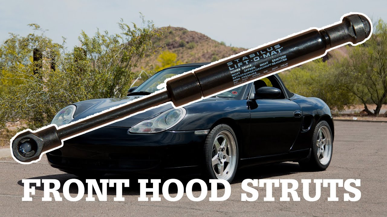 BOXI 2pcs Front Hood Lift Supports Struts Shocks Dampers For Porsche 911 1999-2005 Porsche Boxster 1997-2004 Hood 6364,SG406023,99651155101