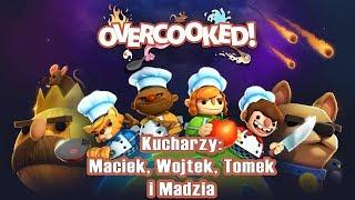 STOJĄCA PARÓWA! Overcooked 2 #04 w/ Madzia, GamerSpace, Tomek90