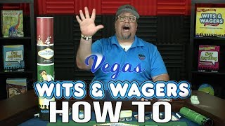 How To Play Vegas Wits & Wagers