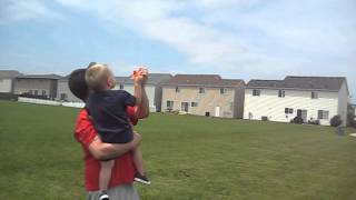 Fathers Day Kite Flying