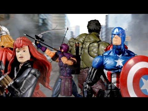 marvel legends the avengers trailer youtube