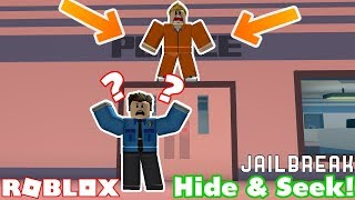 HIDE UND SEEK IN ROBLOX JAILBREAK!!! w/ TheExoticLynx Tabirara