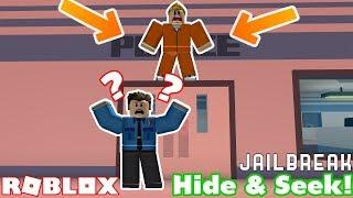 HIDE AND SEEK IN ROBLOX JAILBREAK!!! w/ TheExoticLynx Tabirara