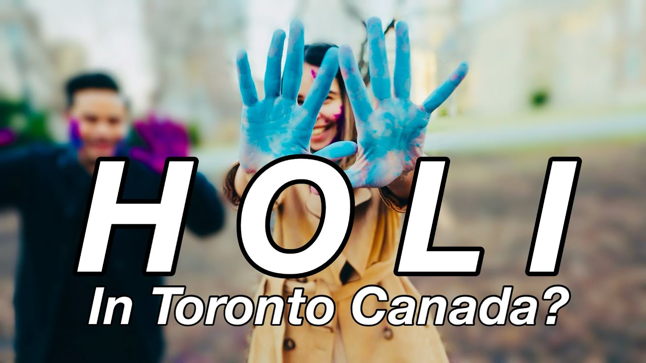 Celebrating Indian Festival in Canada- HOLI IN TORONTO 2021| Visit to Little India and more..