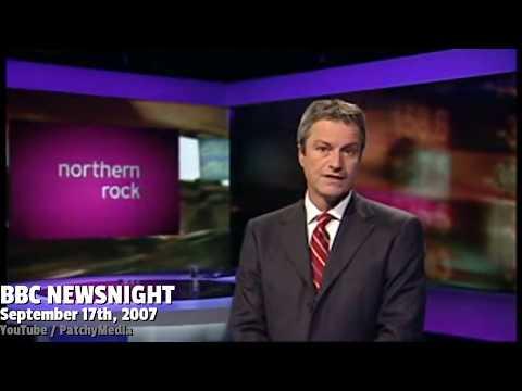 Newsnight Report on Northern Rock Bank Run : 17-09-2007