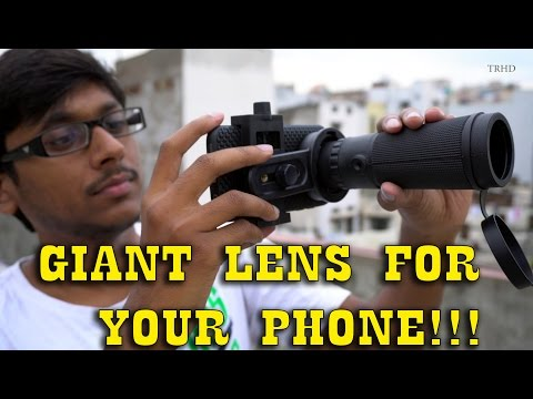 Giant Lens for your Smartphone!?