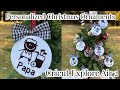 Personalized Christmas Ornaments | Cricut Explore Air 2