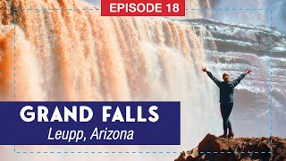 This Arizona Waterfall is TALLER than Niagara Falls! – Grand Falls, AZ