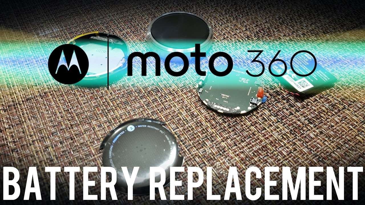 huge selection of a7d5e c5177 Moto 360 Battery Replacement - Complete Teardown Guide (1st Gen)