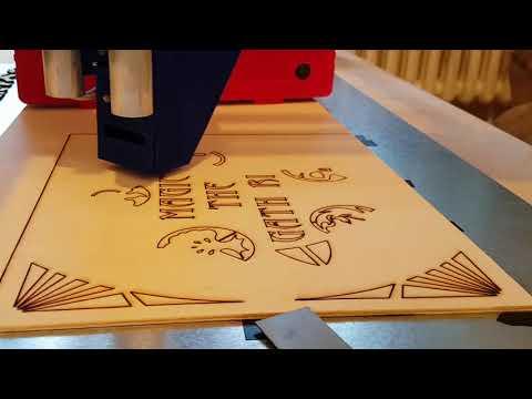 Laser Cutting Box Decoration With MPCNC