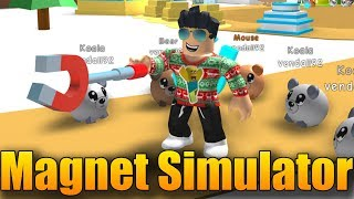 NEW ZONE AND POLE MAGNET! 😂 | ROBLOX: Magnet Simulator #2
