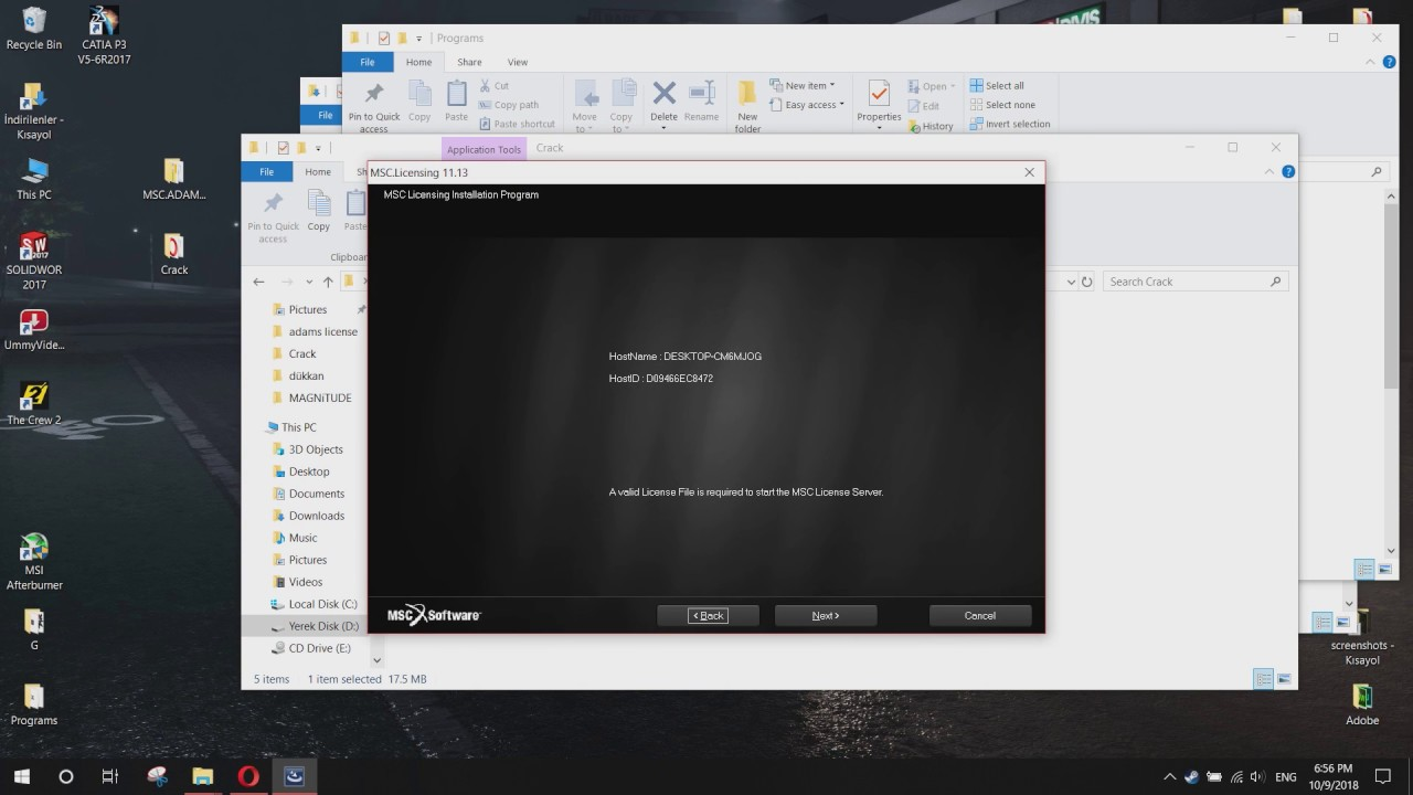 free adams software download with crack