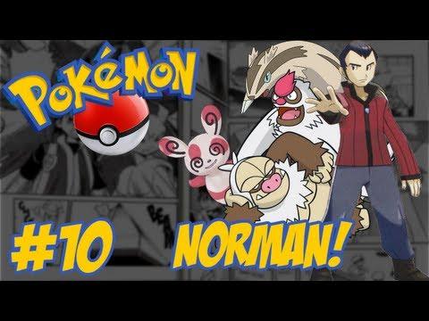 Pokémon Emerald - Temos que Pegar #10 / Norman / Evoluções / A Caminho de WEATHER INSTITUTE!!