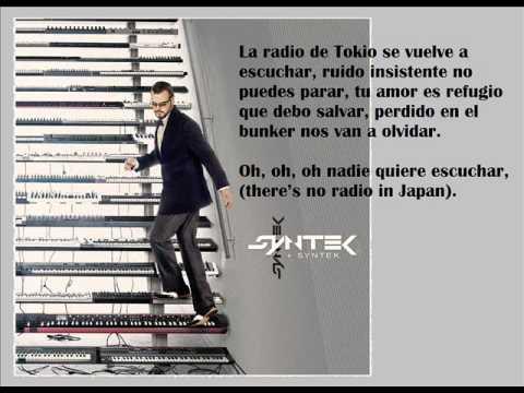 Aleks Syntek La radio de Tokio (letra)