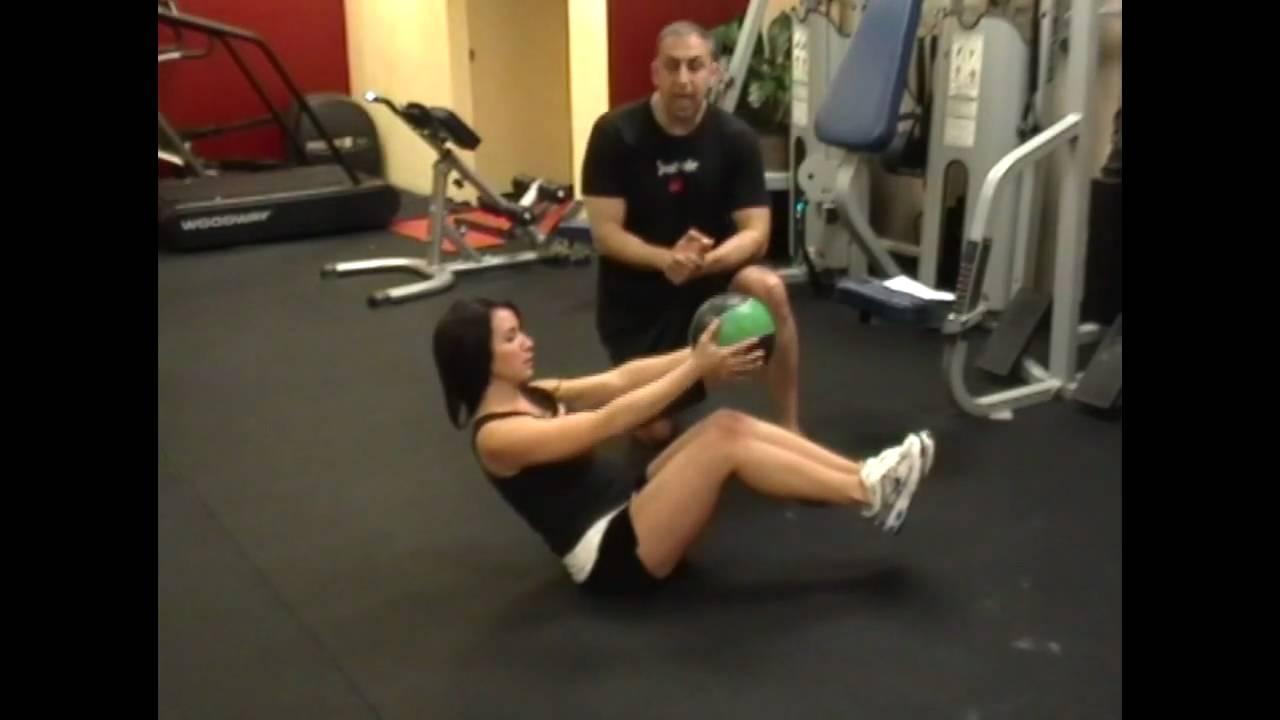 Top 6 Medicine Ball Exercises Youtube Gym Grip 10kg