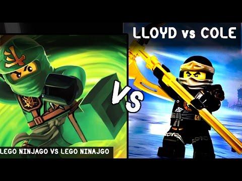 Lloyd vs cole lego kids battles fights walki lego - Ninjago vs ninjago ...