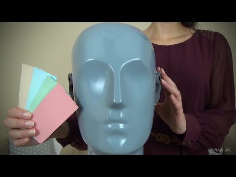 [ENG SUB] Color Therapy for Stress Relief with Hand Movements & Hand Sounds l Polish ASMR