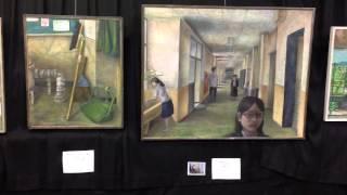 第5回明石市立魚住東中学校   校内美術部展