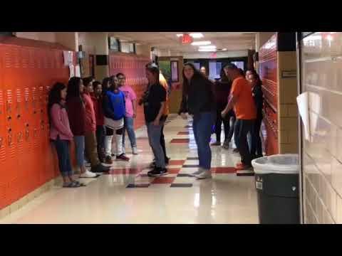 Haltom Middle School Friday mornings