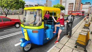 Modern Tuk Tuk Auto Rickshaw – Free Driving Games #1 - City Driver - Android GamePlay screenshot 1