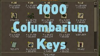 Loot from 1000 columbarium keys