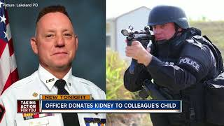 Lakeland Police Officer gives gift of life