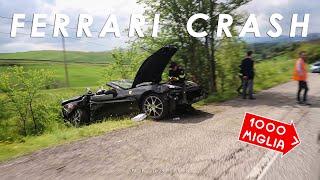 Incidente tra 2 Ferrari - 1000 Miglia 2019 VLOG #2 (ENG SUBS)