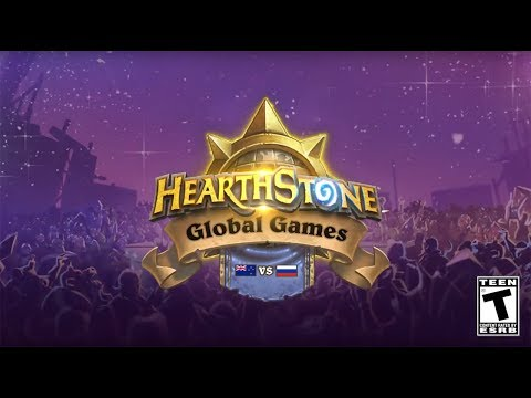 New Zealand vs. Russia - Group C - 2017 Hearthstone Global Games - Week 10