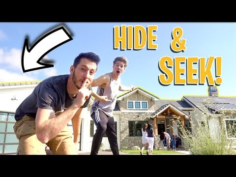 HIDE AND SEEK IN MILLION DOLLAR MODEL HOMES!