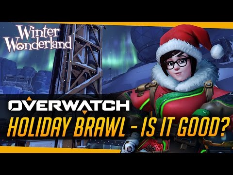 Overwatch | Holiday Brawl - Is it good? [Mei Snowball Fight]