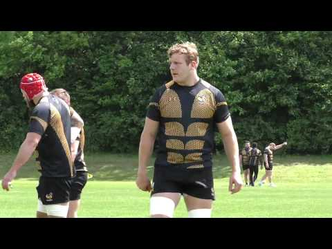Joe Launchbury pre Bath
