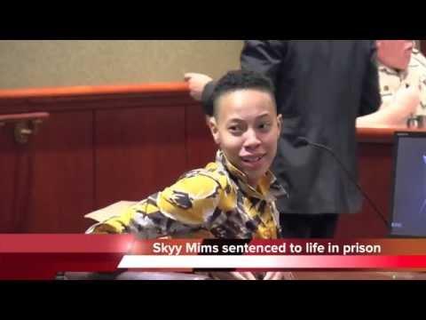 Skyy Mims Sentenced To Life In Prison - Dalton GA Killing