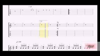Iron Maiden Tabs - The Clansman